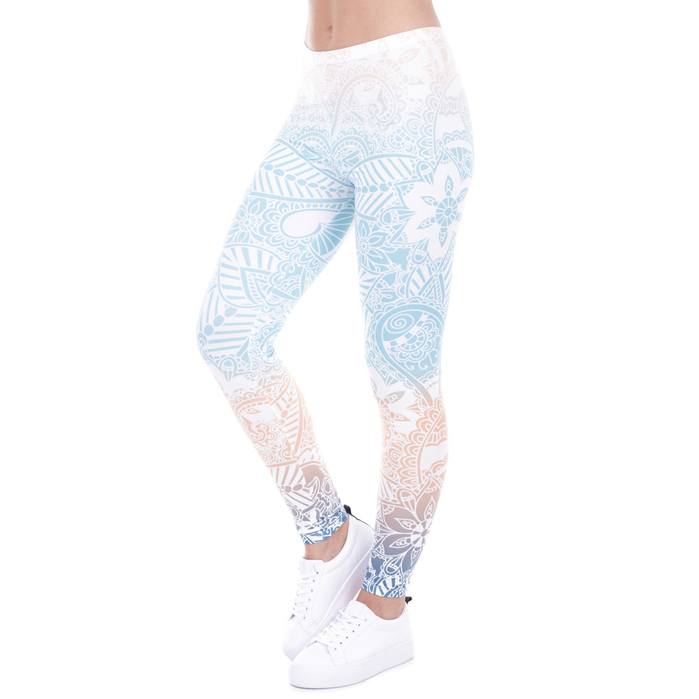 Cheap Printed Yoga Leggings