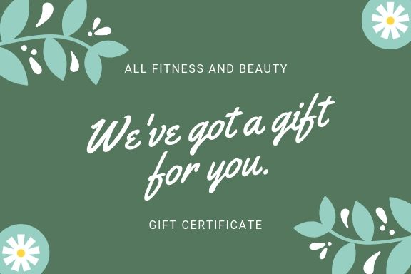 discount coupons for all fitness and beauty products