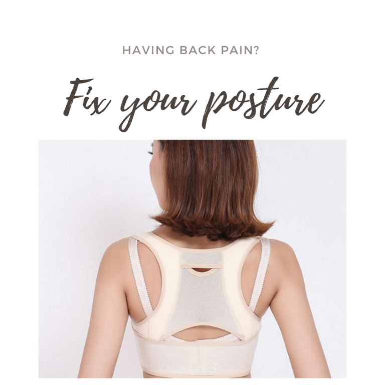 Posture Corrector Brace for Less Back Pain