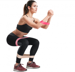 resistance band workout for legs