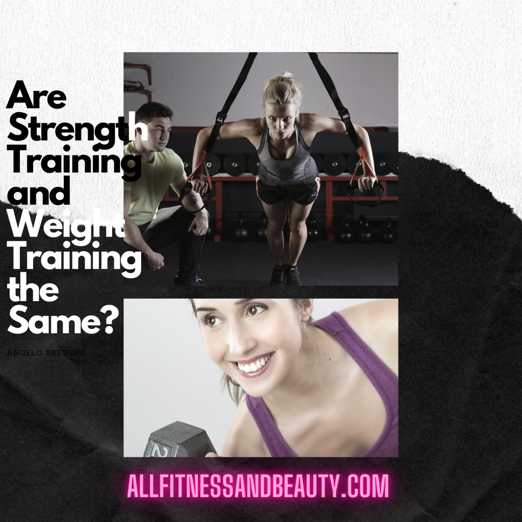 Are Strength Training and Weight Training the Same?