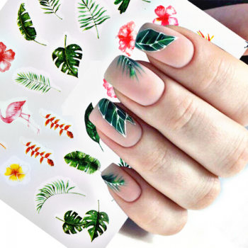 Water Nail Decal
