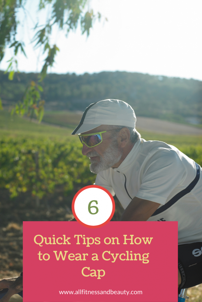 6 Quick Tips on How to Wear a Cycling Cap