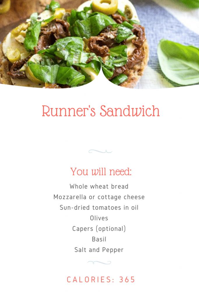 Runner's Sandwich
