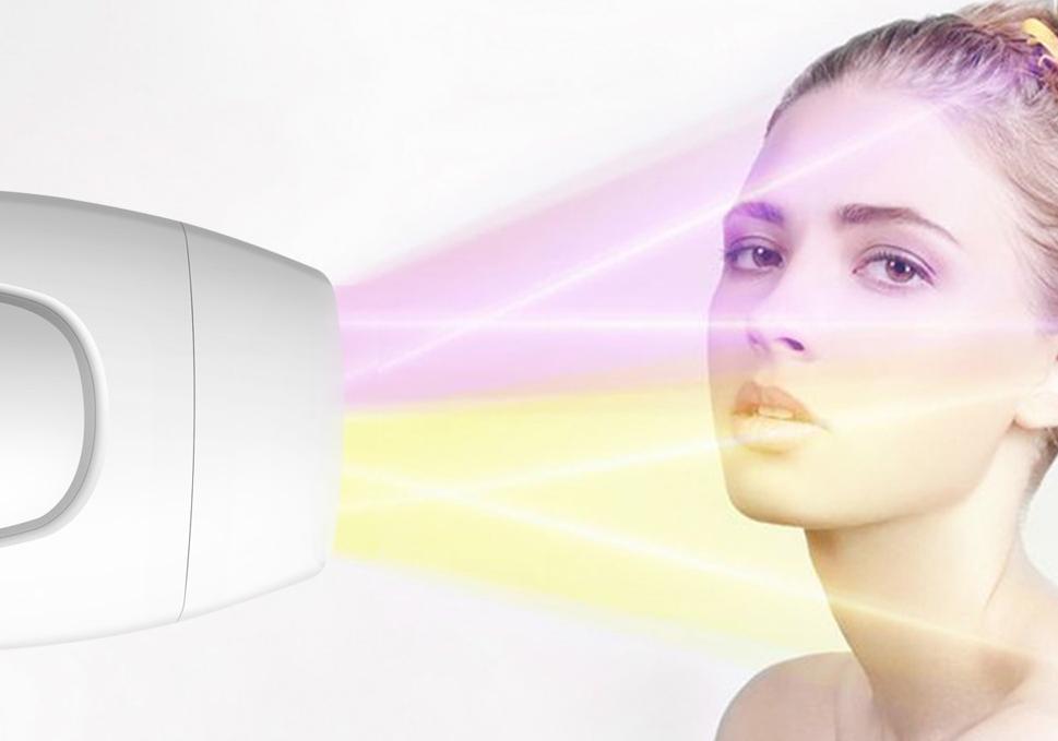 professional laser epilator light