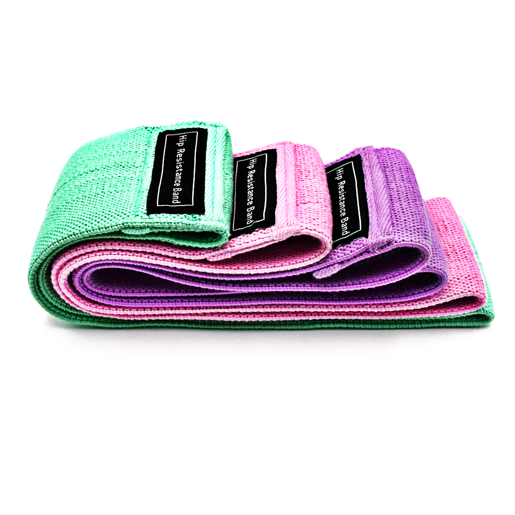 fabric resistance bands 3 pieces