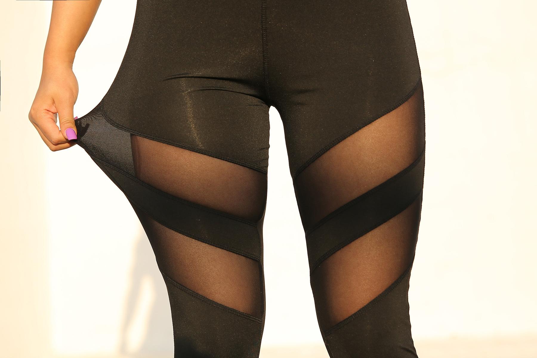 mesh sports leggings 3