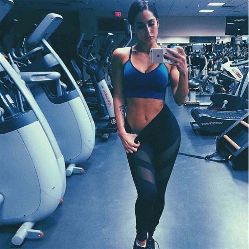 mesh sports leggings