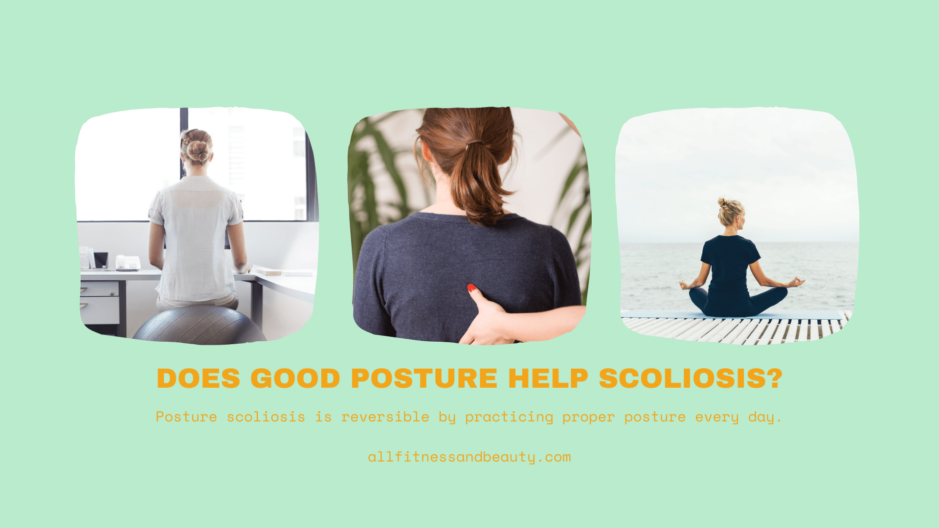 does good posture help scoliosis