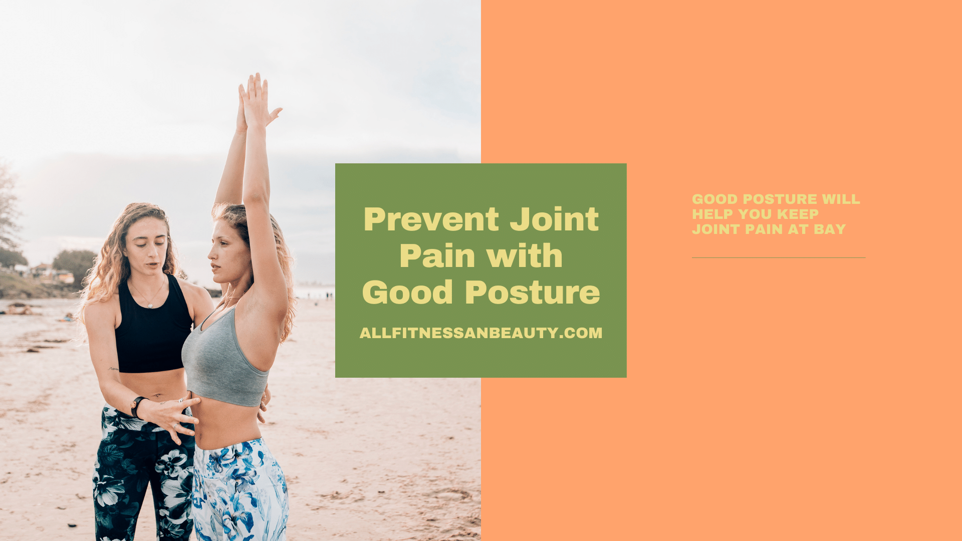 prevent joint pain with good posture