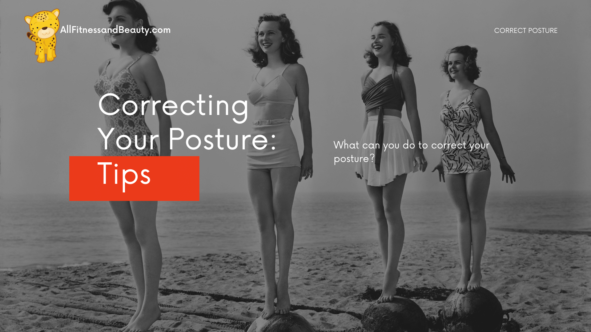 how can i correct my posture