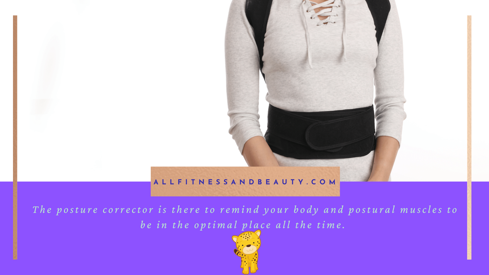 Is a Posture Brace a Good Idea - reminding your body