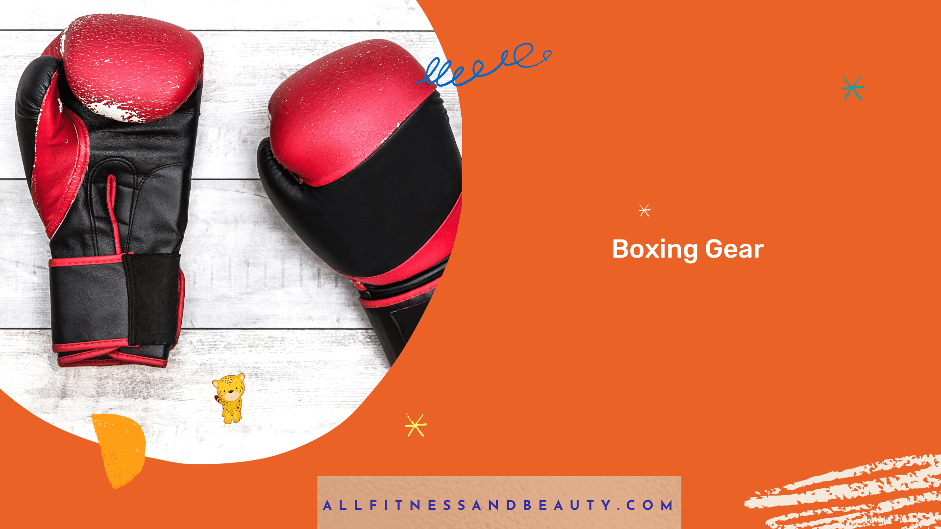 boxing gear fathers day idea
