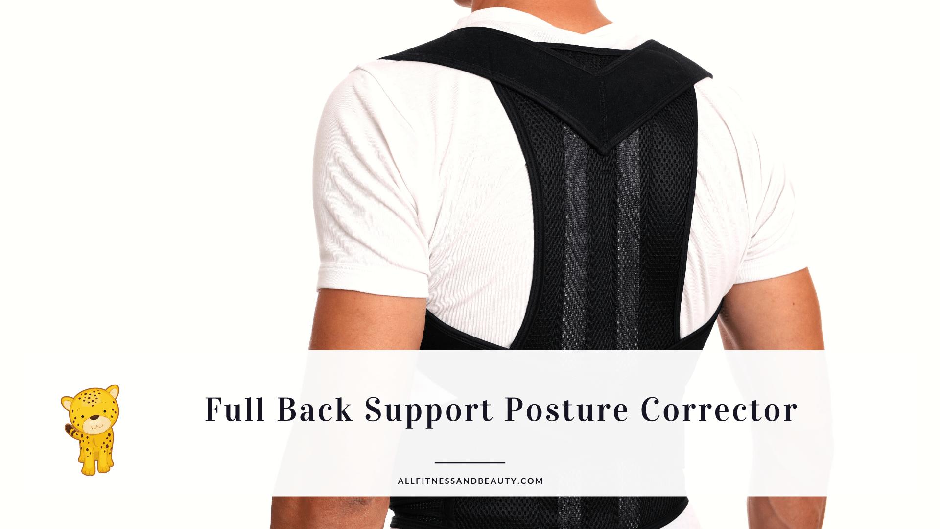 full back support posture corrector