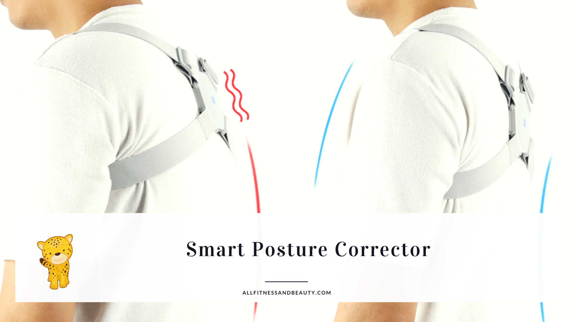 smart posture corrector to correct hunched over posture