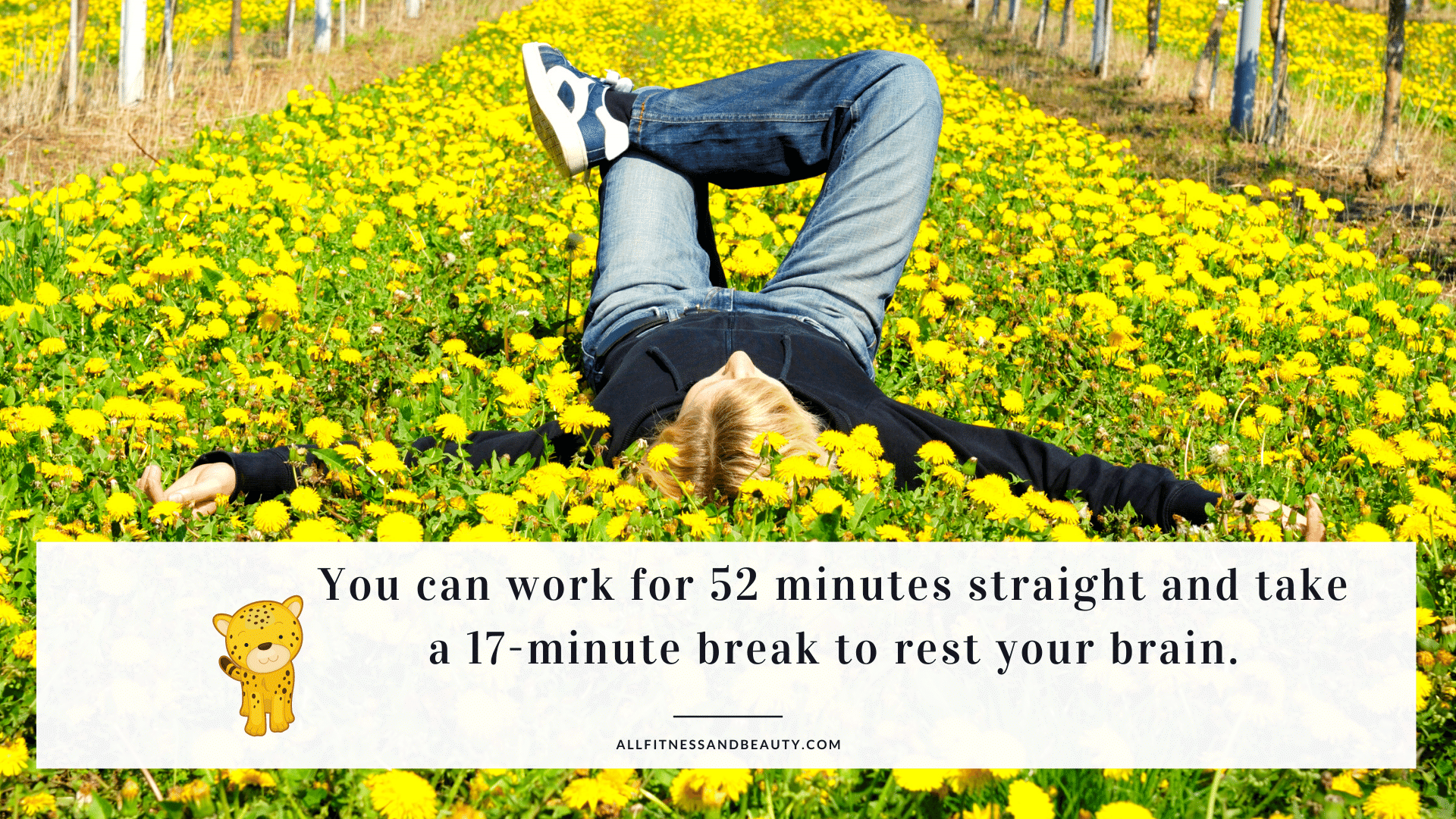 work from home more effectively - take breaks