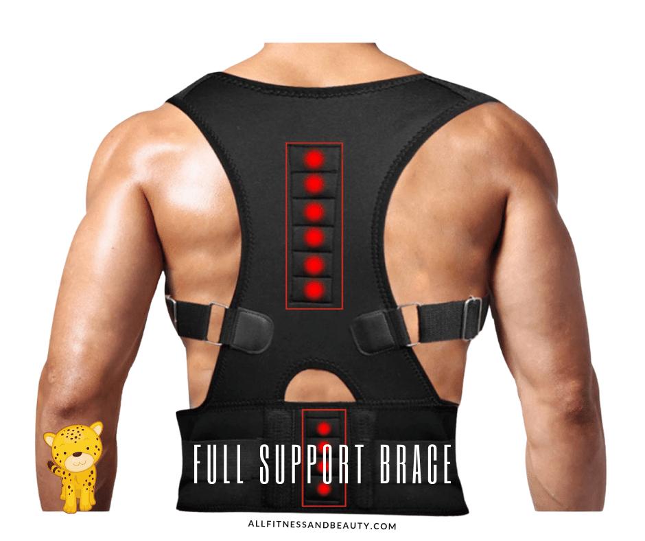 Best Posture Corrector for Elderly -- support brace