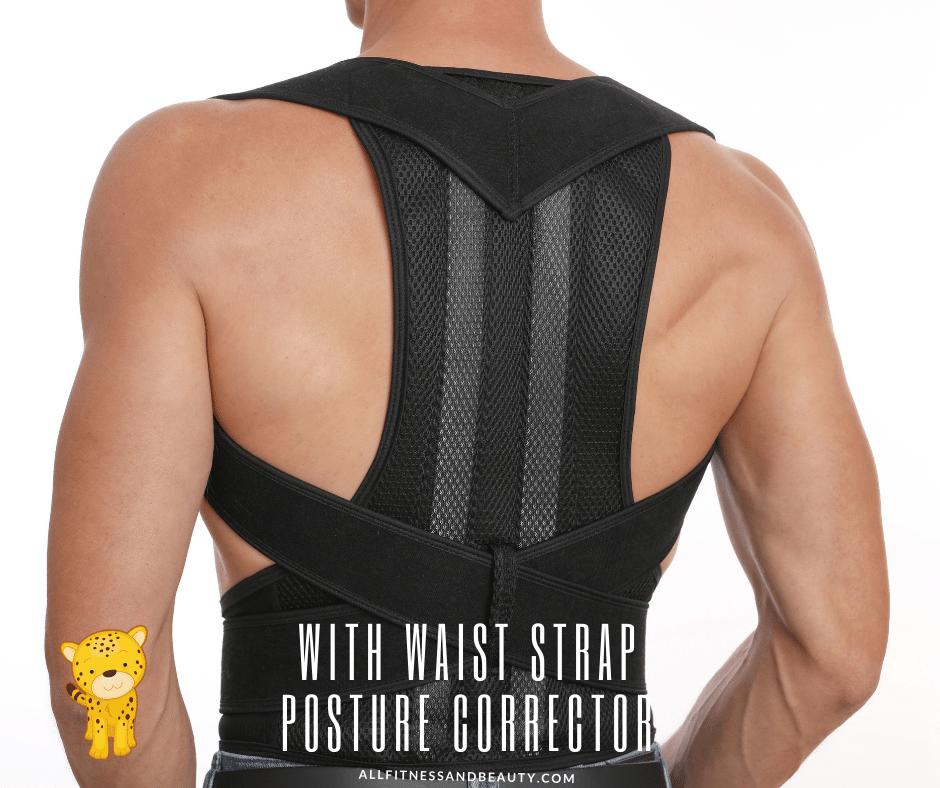 Best Posture Corrector for Elderly -- with waist strap