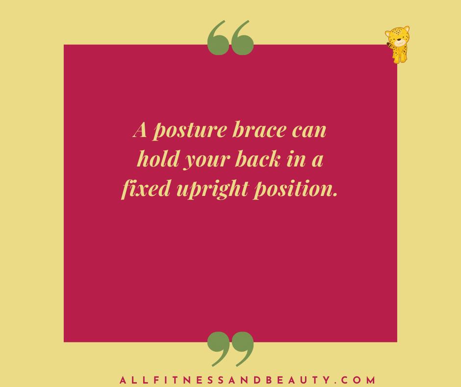 best posture brace Canada -- posture brace