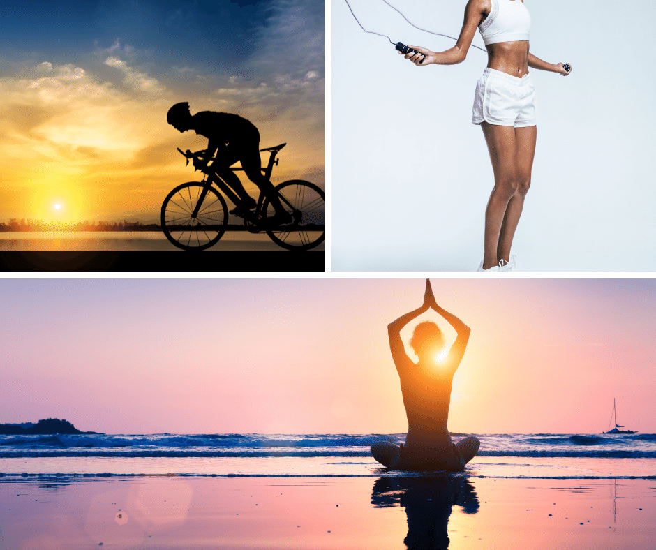 will boxing make you lose weight -- cycing yoga skipping rope
