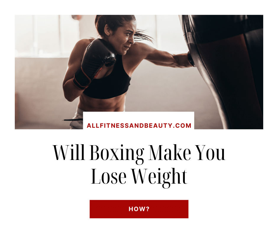 will boxing make you lose weight